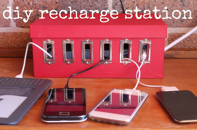 How To Diy Device Charging Station Make
