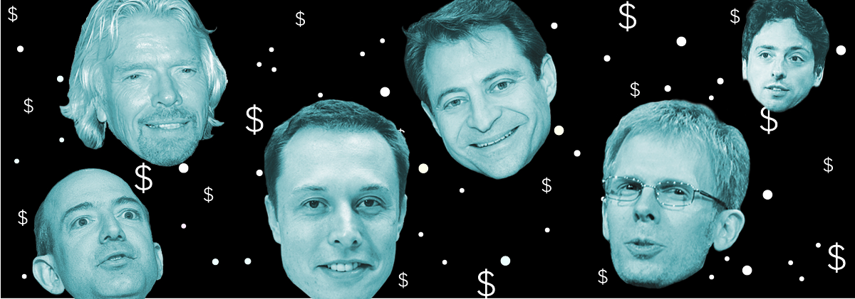 Zillionaires in Space