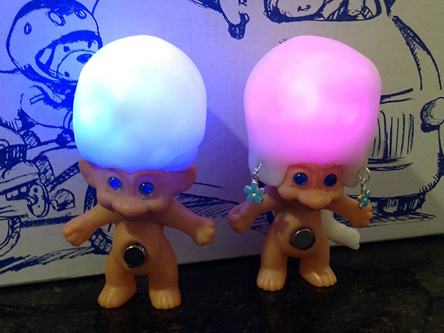 Troll Doll Light Make