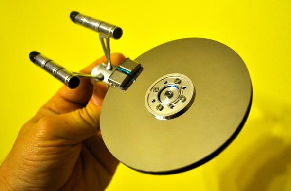 hard drive USS enterprise
