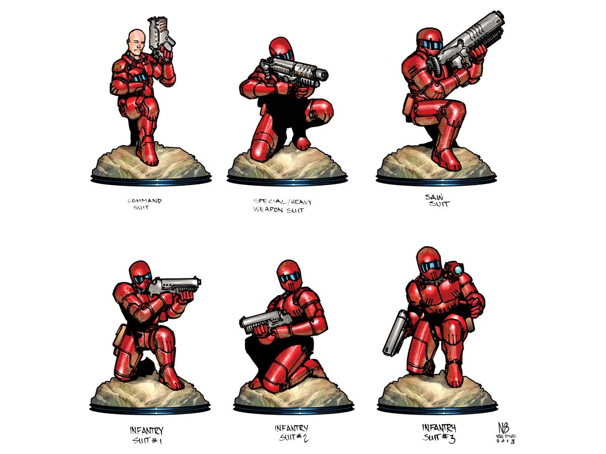 Shrink-Film Gaming Minis