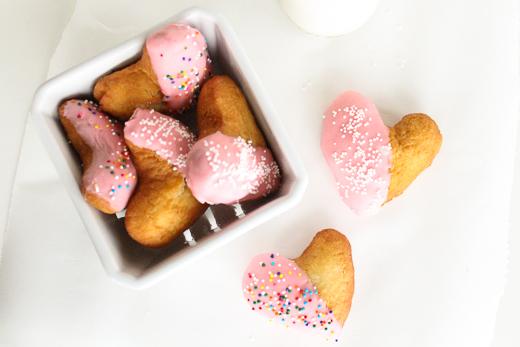 heart donuts