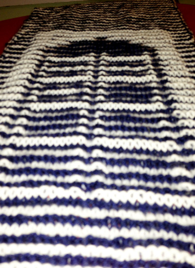 Illusion Knitting Pattern Generator : Illusion Knit Dr. Who Scarf Make: