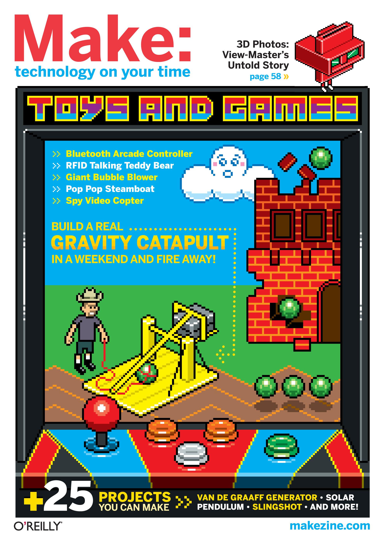 MAKE 28: Toys & Games