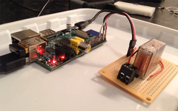 Tell Siri To Open Your Garage Door With Raspberry Pi Make