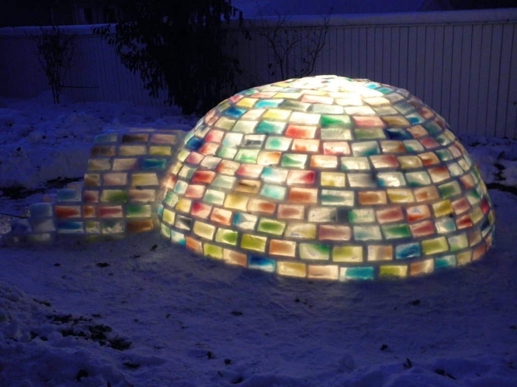 rainbow igloo1