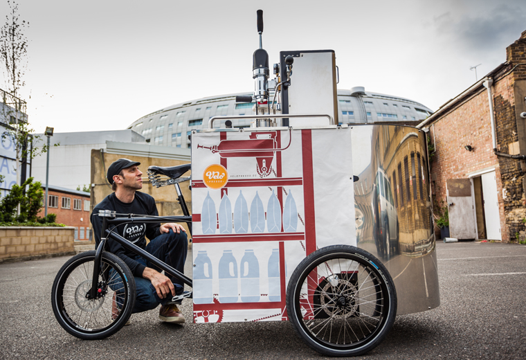 The Velopresso Is A Pedal Powered Coffee Machine Make