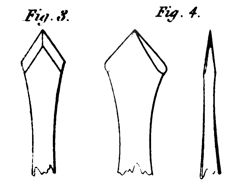 Flat drills, ca. 1822, from Thomas Gill's Technical Repository.