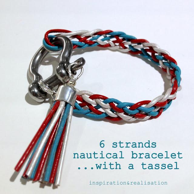 inspiration&realisation_diy_6_strands_braid_nautical_bracelet_with_tassel_tutorial_leather_cords