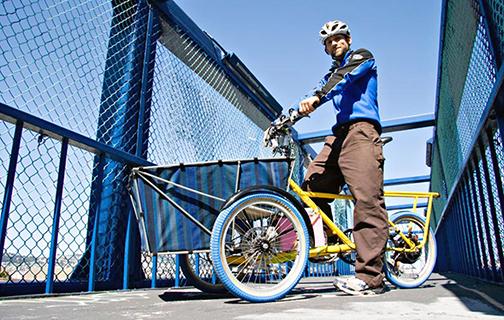 Bikego, not cargo: Onya Cycles trike.