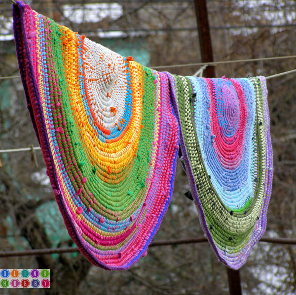 Crochet A Rug With Yarn Old T Shirts