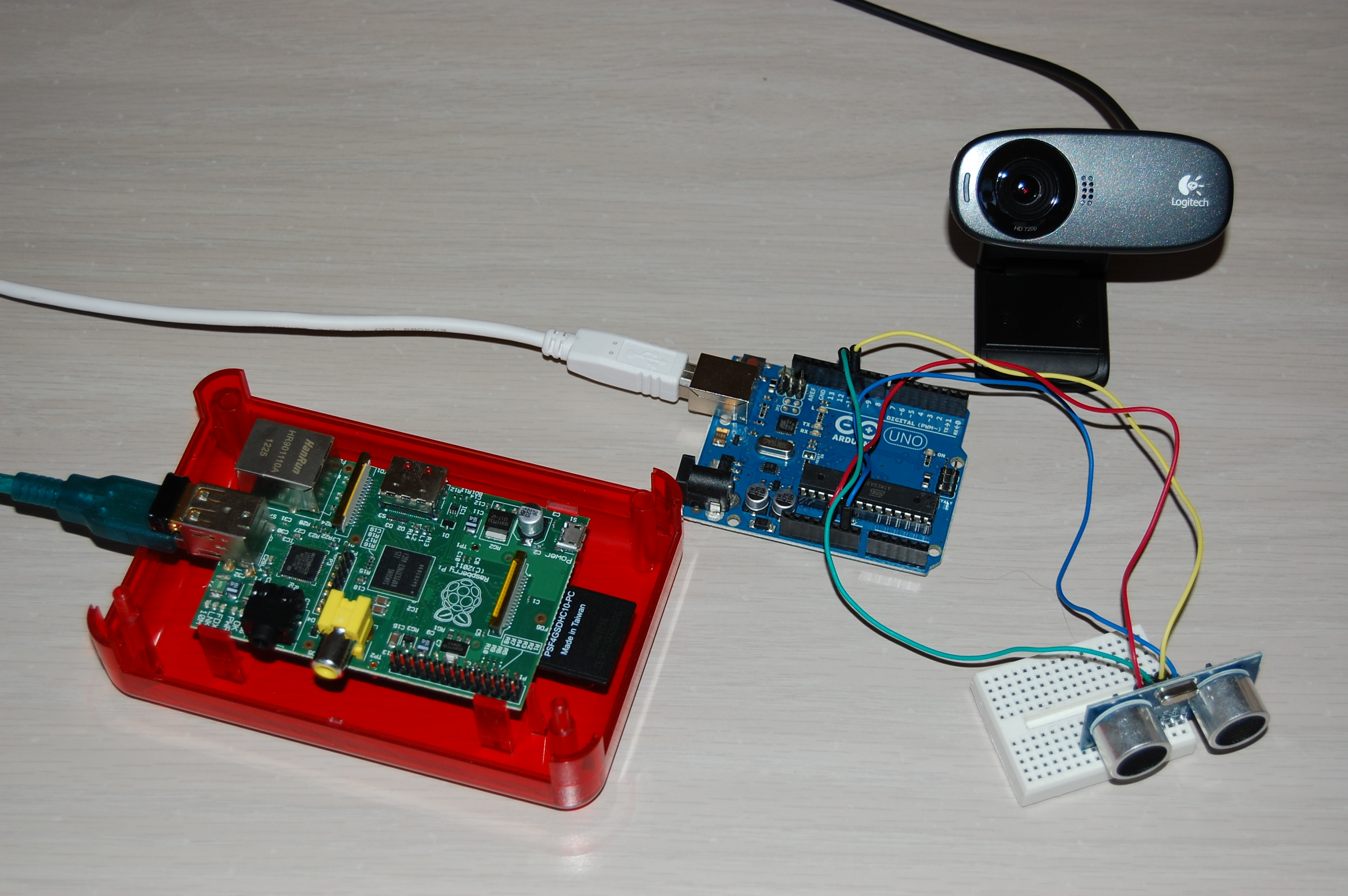 raspberry pi arduino projects Using raspberry pi: a low cost, easy to customize wireless sensor network is  designed using raspberry pi and arduino.