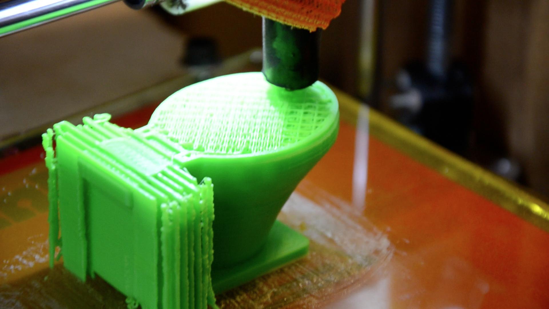 3D Printed Toilet