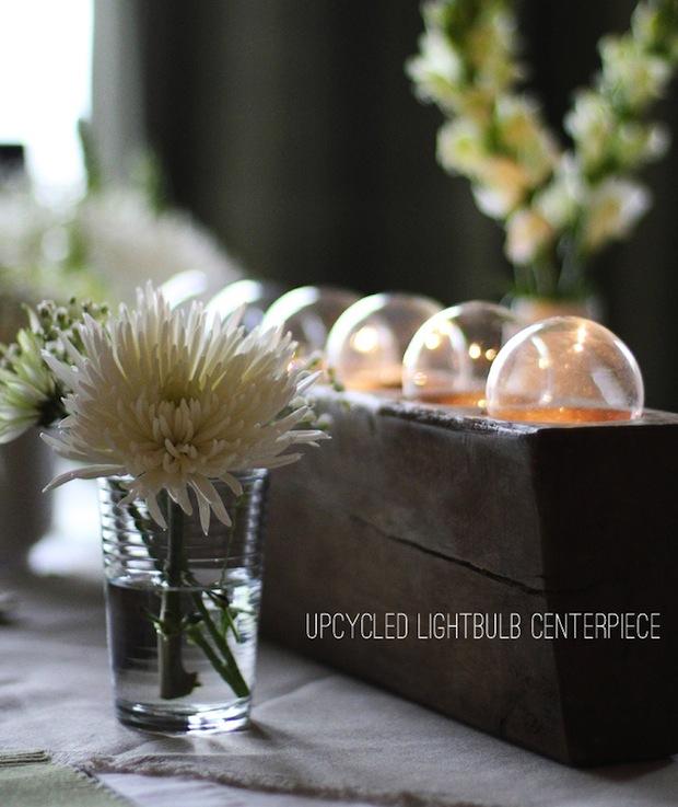 warmhotchocolate_upcycled_lightbulb_centerpiece