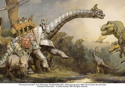 Convoy-Surrounded-Dinotopia
