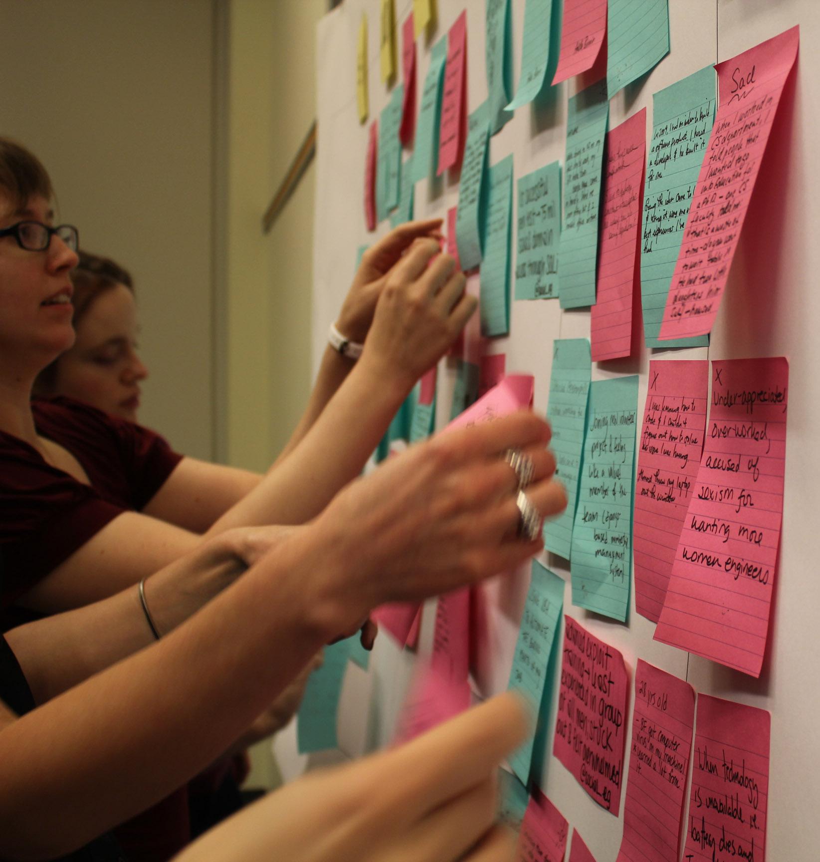 Hacking the Gender Gap Timeline