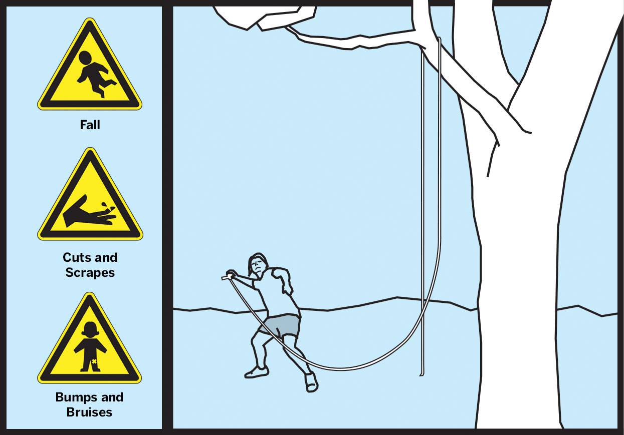 Danger — Make a Rope Swing