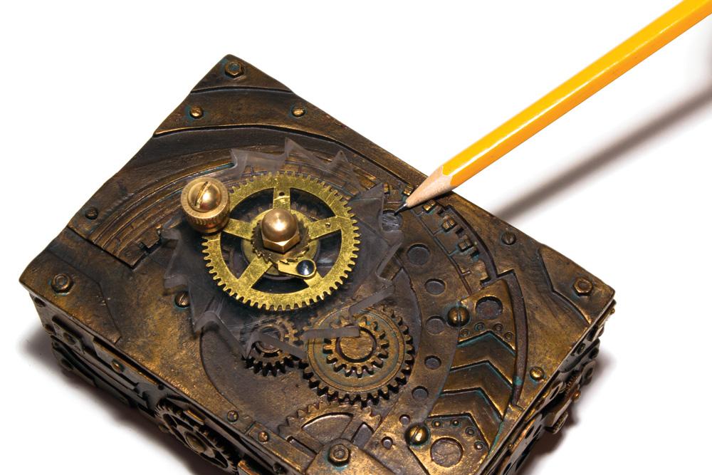 Hand-Crank Geiger Counter