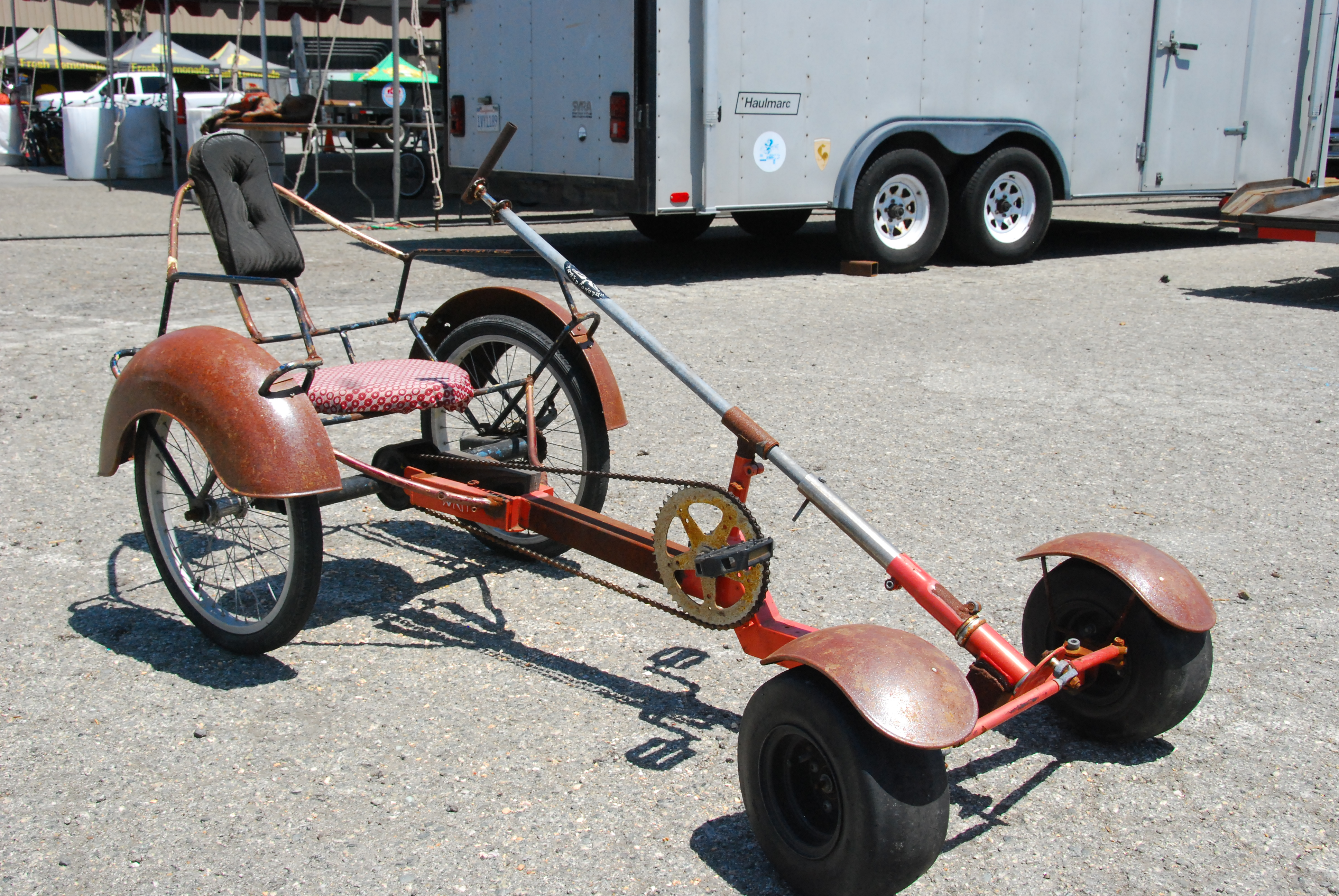 How to make a pedal car from wood