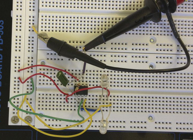 Make a differential light meter with an op amp make for Metre laser castorama lille