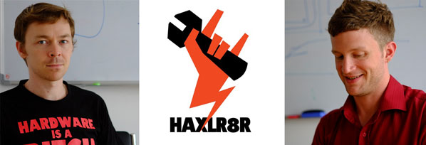 Cyril and Zach from HAXLR8R