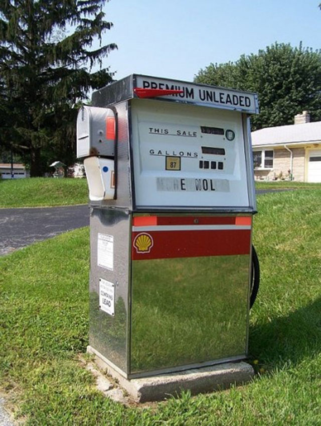 mailbox petrol