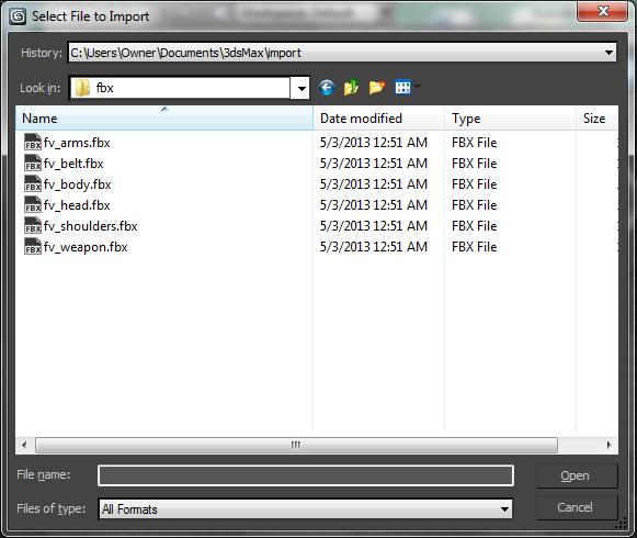 All FBX Files