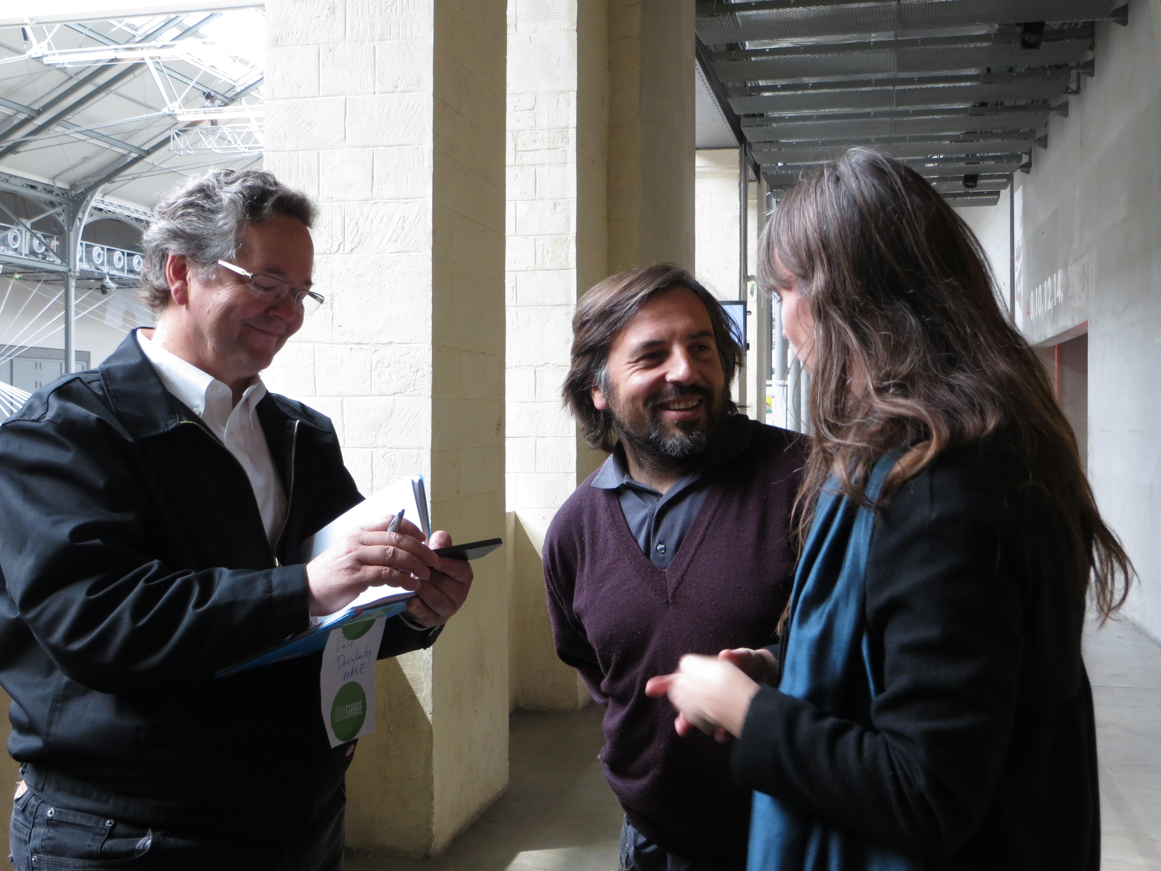 Dale talks to Vincent Guimas and Véronique Routin.