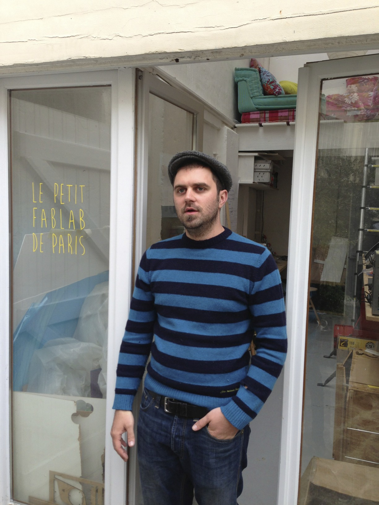 Artur Schmitt of Le Petit Fab Lab