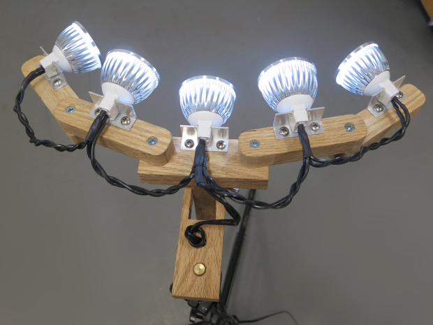 led photo light mounted3