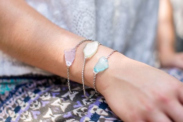 thesweetestoccasion_sea_glass_bracelet