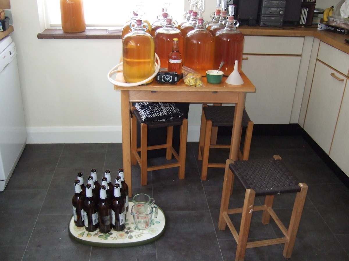 Kitchen-Table Cider Making