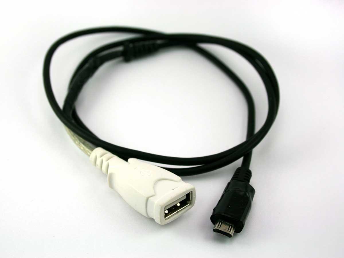 make your own on-the-go (otg) usb cable | make:  makezine