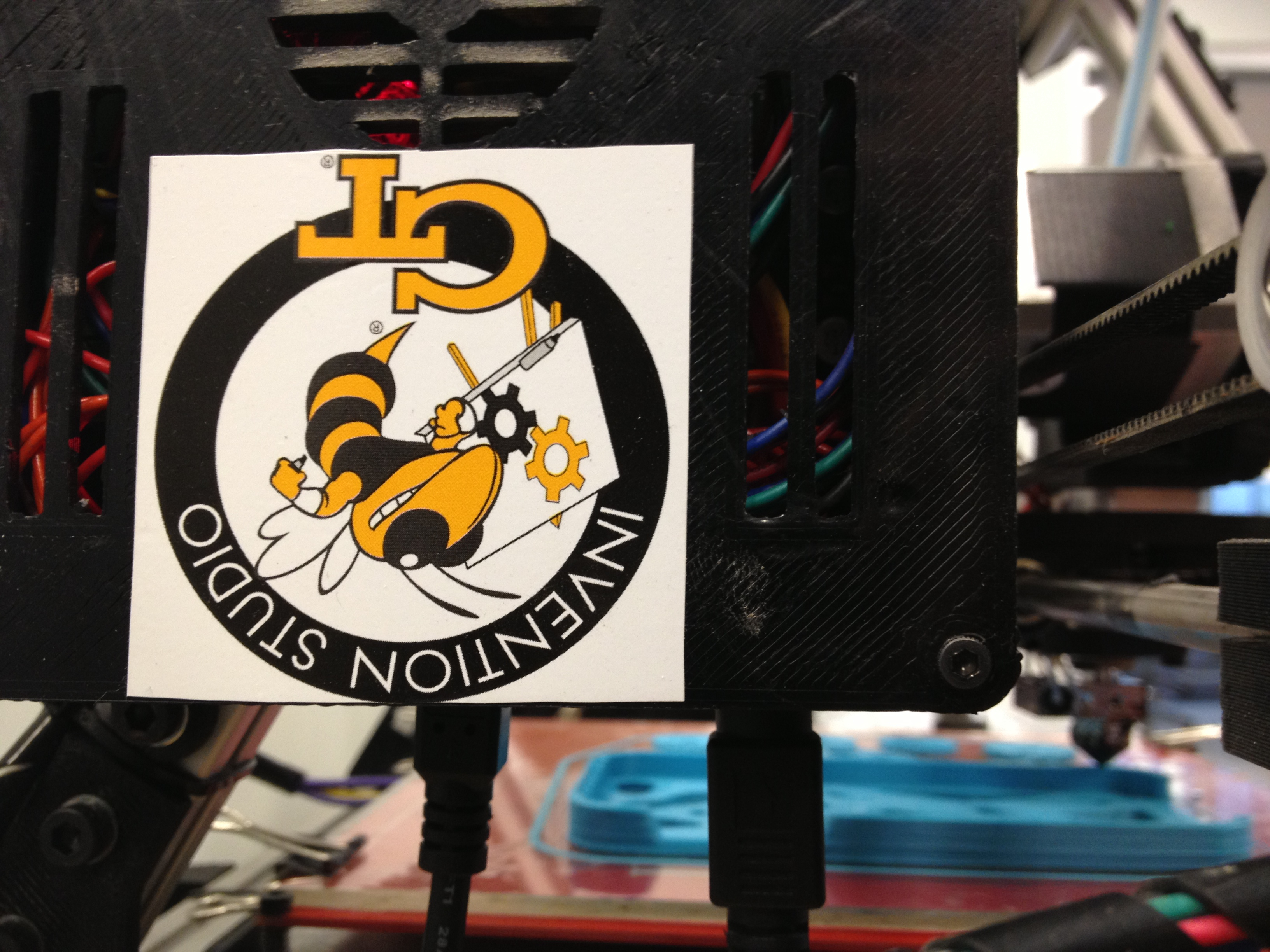 The Invention Studio does a lot of 3D printing