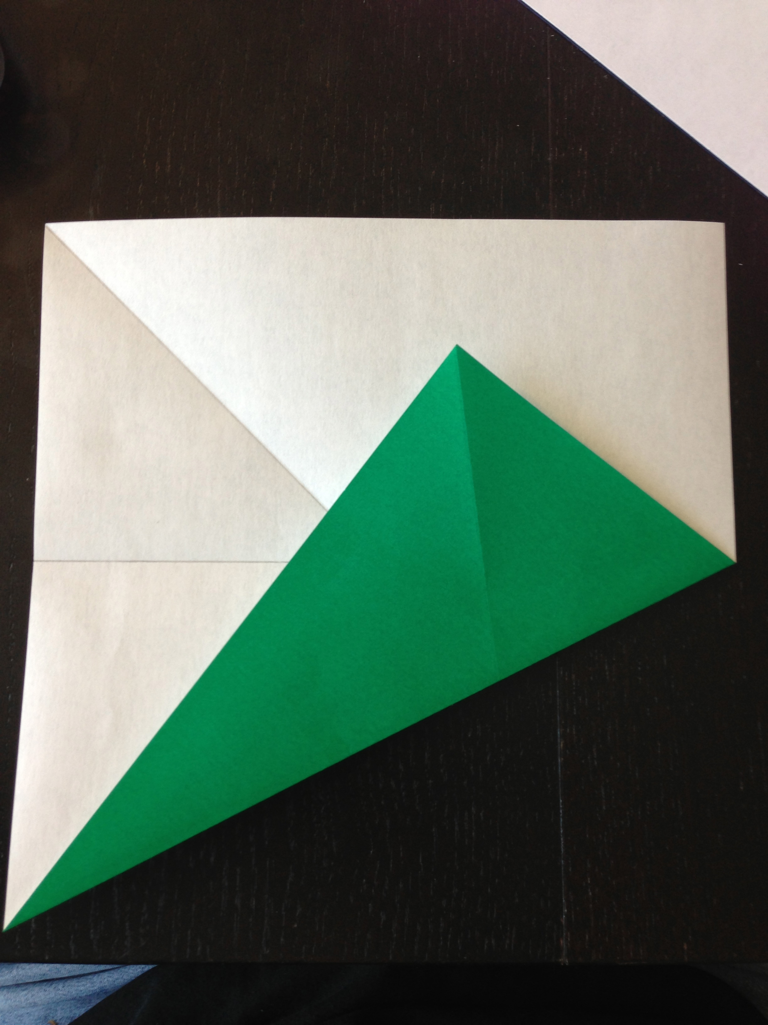 How to Fold Origami Paper Into Thirds