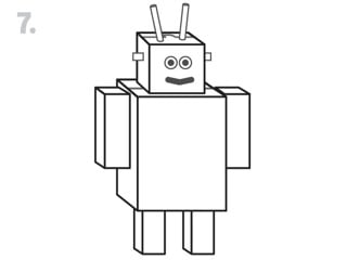 Cereal Box Robot