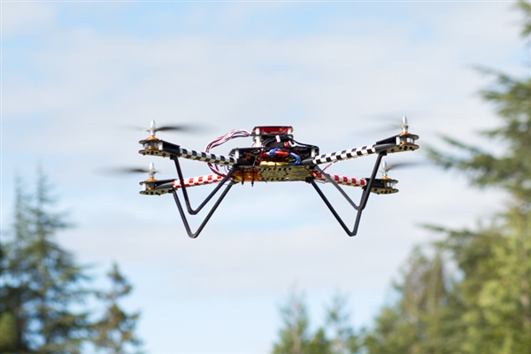 The ELEV-8 Quadcopter