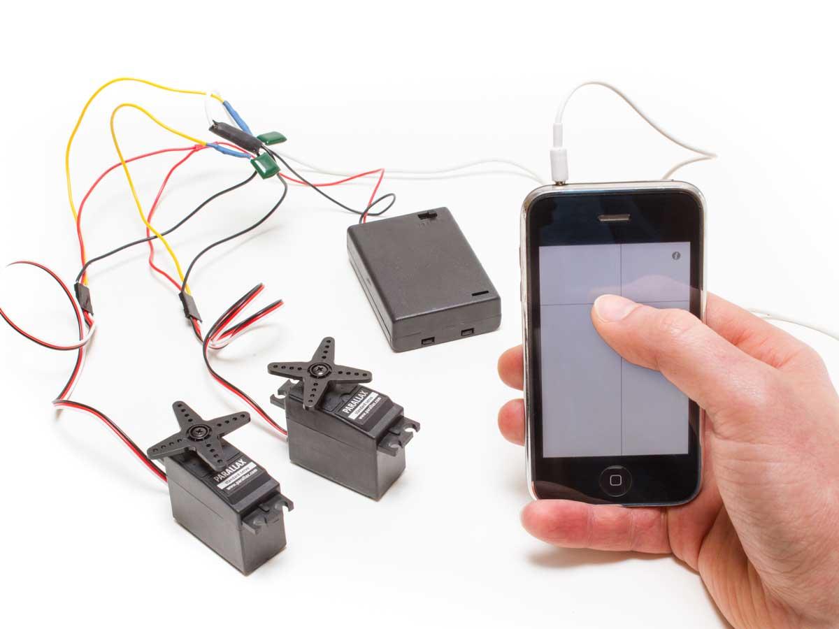 Smartphone Servo