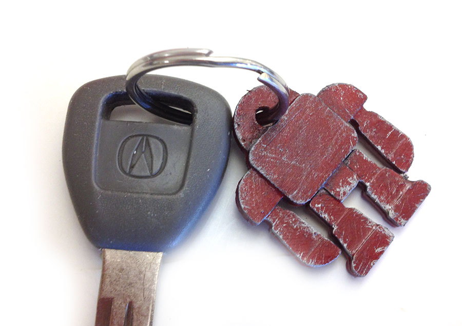 Custom Robot Keychains with Easy Moldmaking