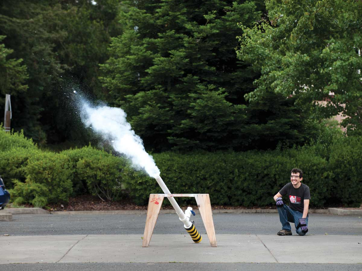 The Sublimator Dry Ice Cannon