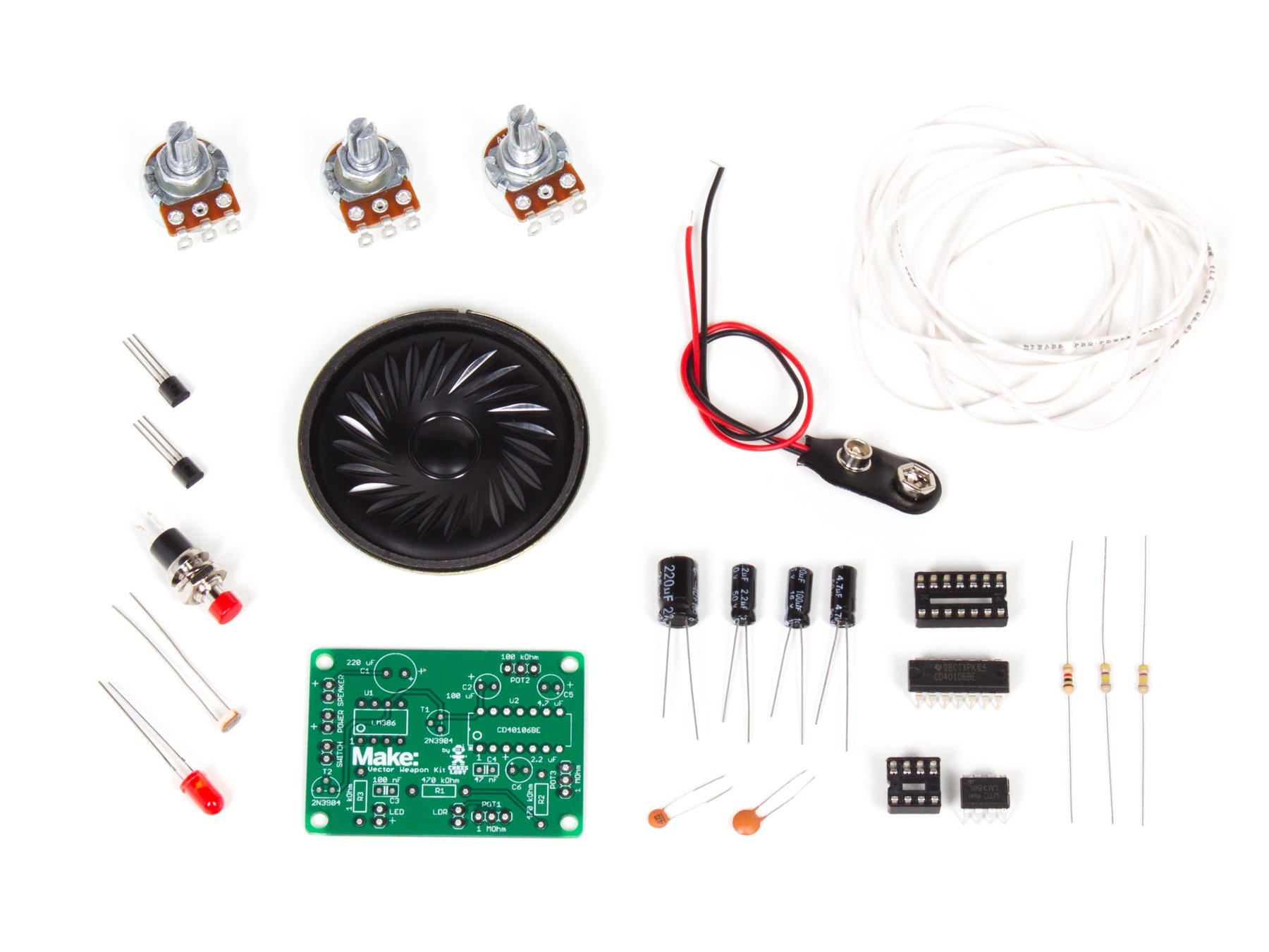 Build the Vector Weapon Electronics Kit