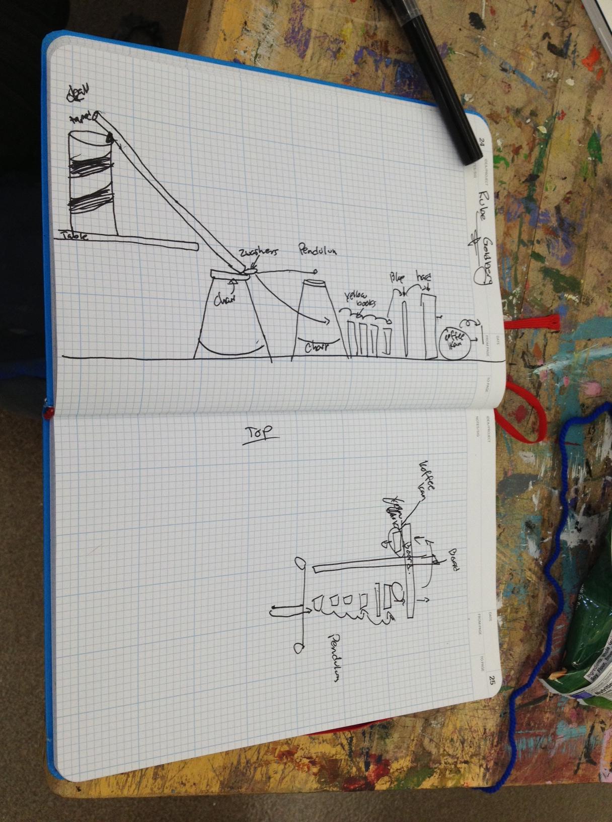 Maria Carillo MC design notebook