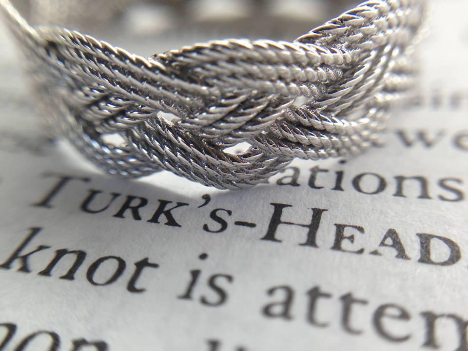 3D printed Turk's head ring