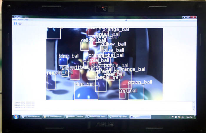 Pixy can detect, track and discriminate between multiple objects simultaneously.