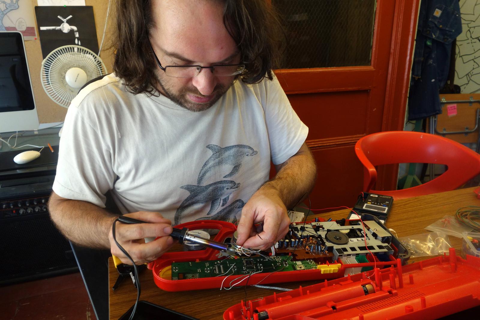 Peter Edwards aka Casper Electronics.