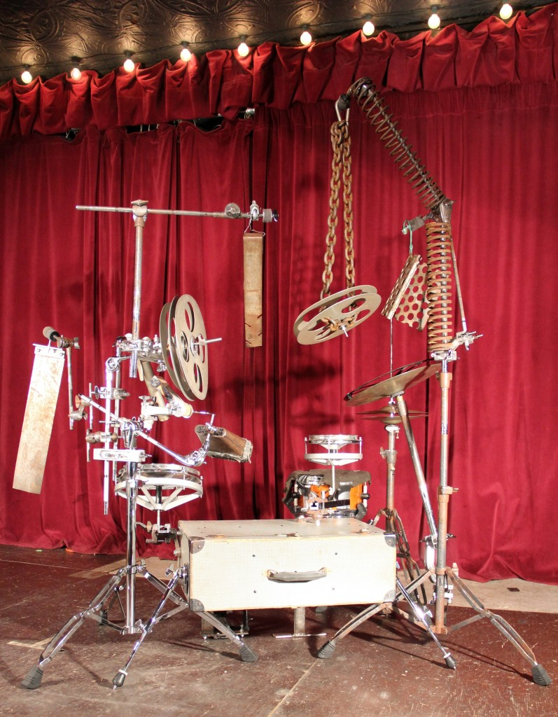 eric faber Suitcase-Drumset