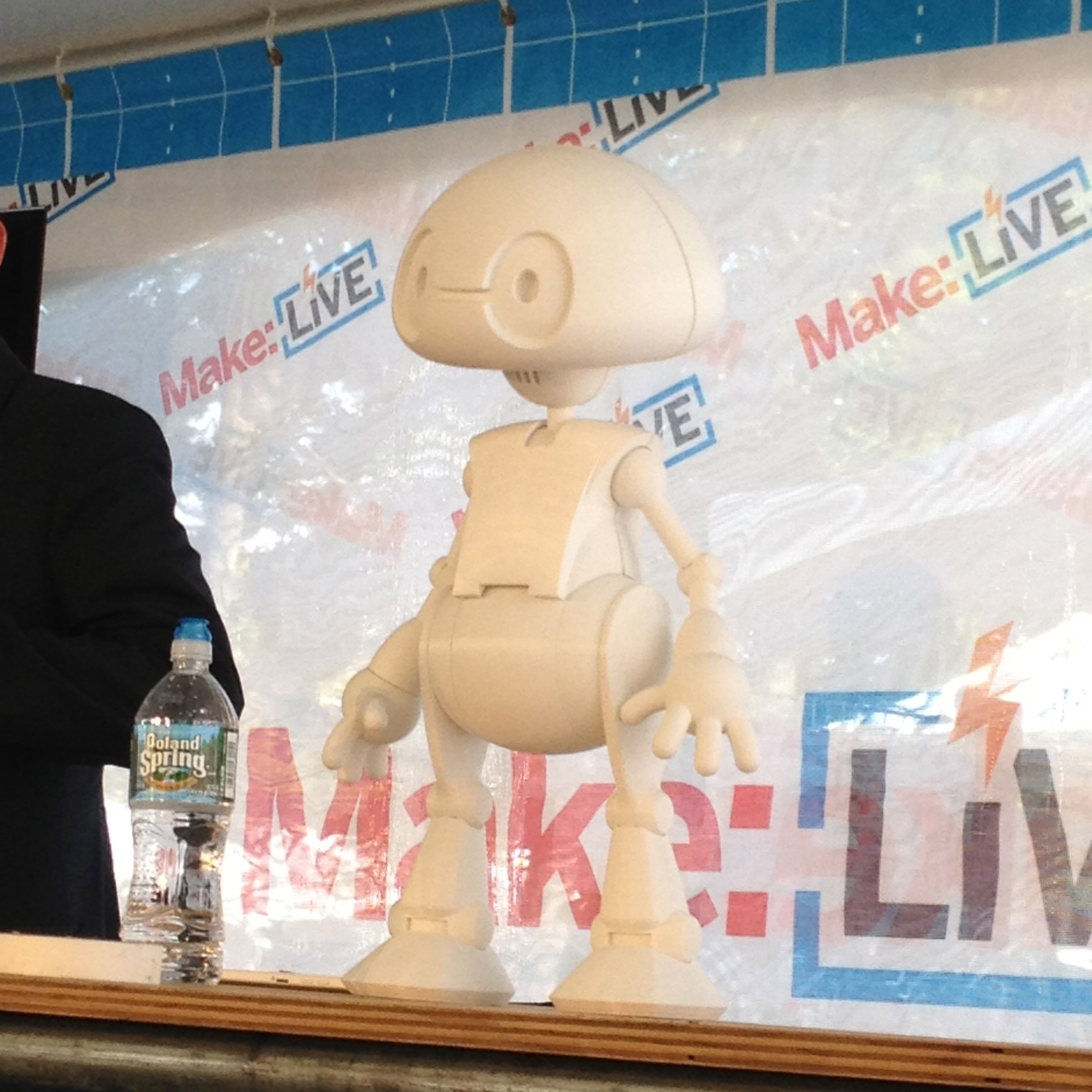 Jimmy on the Make: Live stage.
