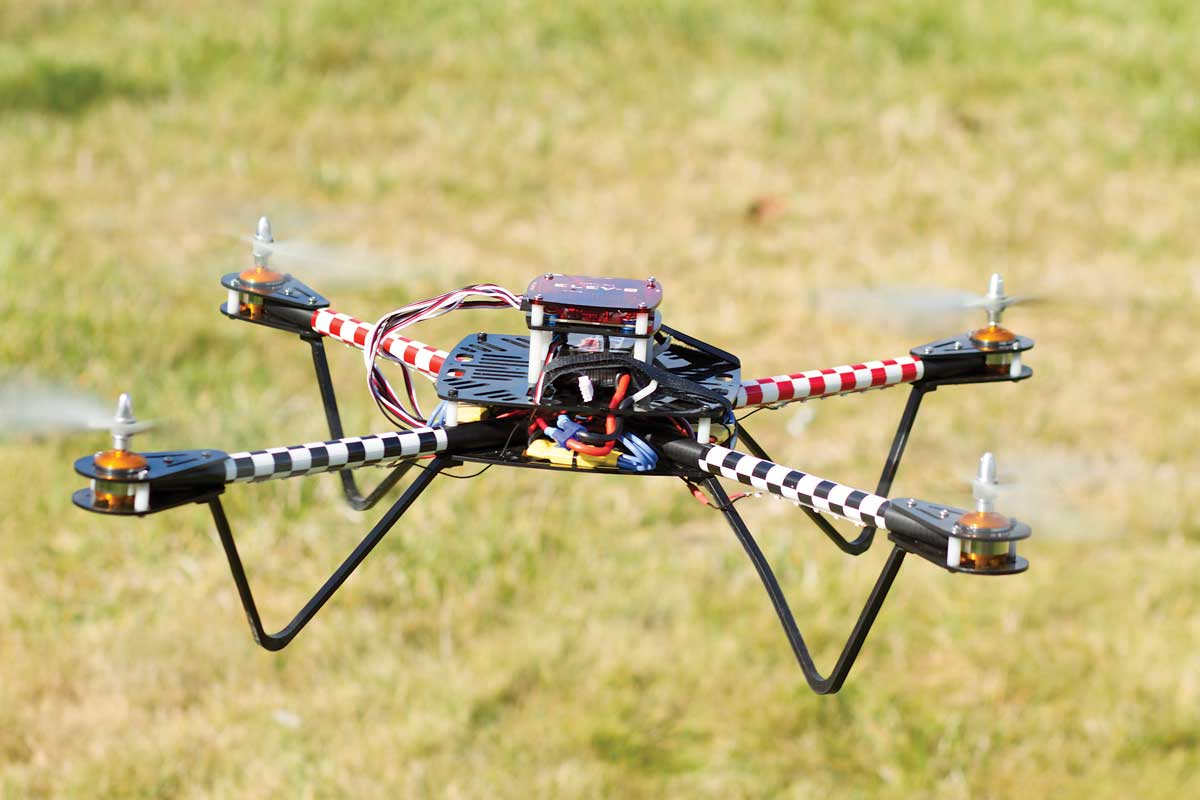 The ELEV-8 Quadcopter is based around a Parallax Propeller.