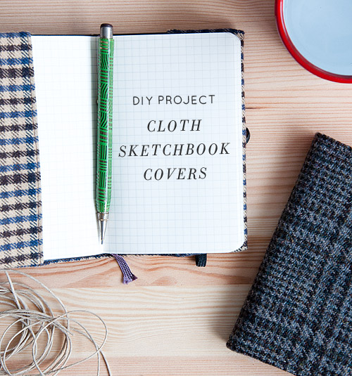 plaid notebook cover-2