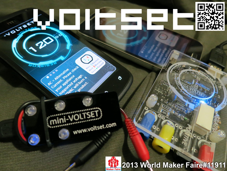 Voltset - The smartest multimeter.